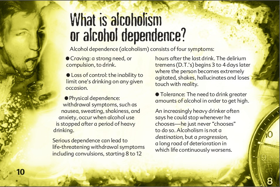 10 The truth about alcohol booklet