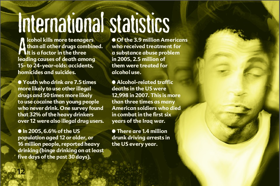 12 The truth about alcohol booklet