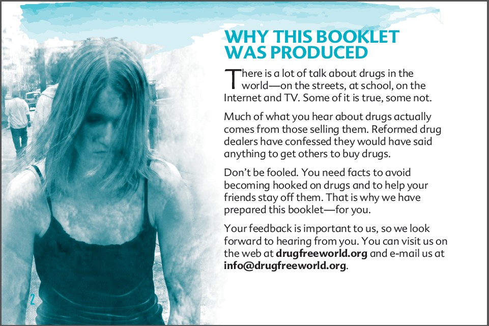 2 truth about drug booklet