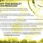 2 The truth about alcohol booklet