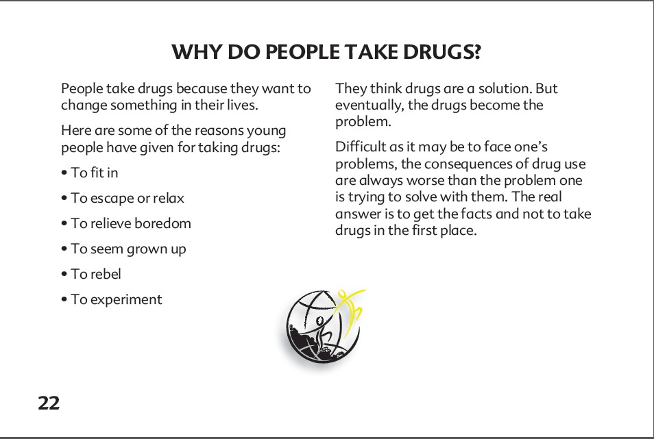 22 The truth about alcohol booklet