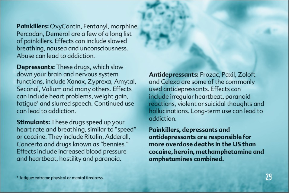29 truth about drug booklet