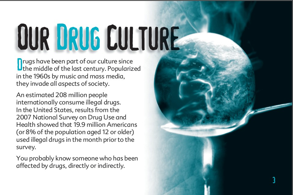 3 truth about drug booklet
