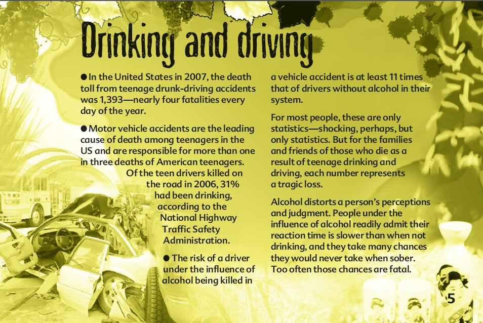 5 The truth about alcohol booklet