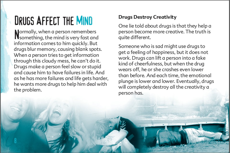 8 truth about drug booklet