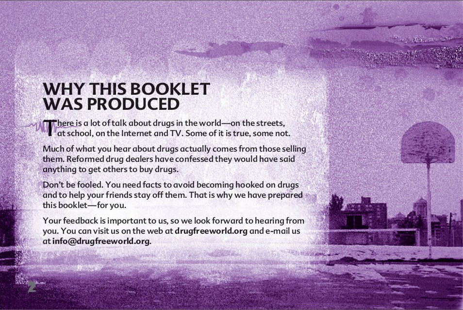 2 The Truth About Painkillers booklet