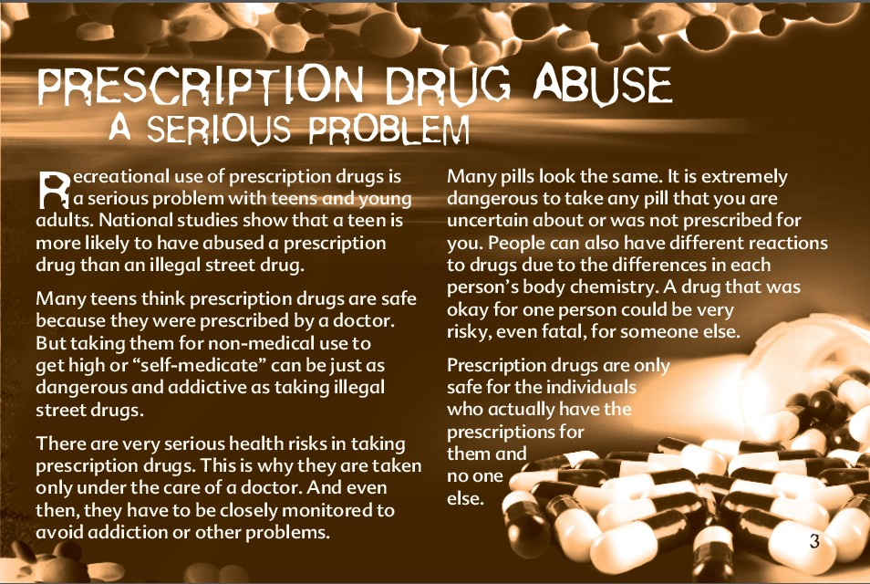 3 The Truth About Prescription Drug Abuse