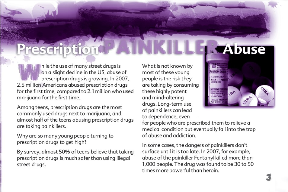 3 The Truth About Painkillers booklet