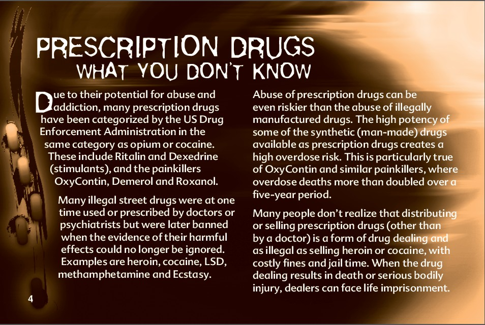4 The Truth About Prescription Drug Abuse
