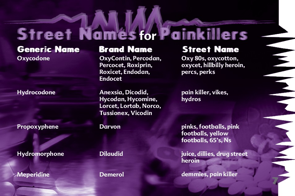 7 The Truth About Painkillers booklet