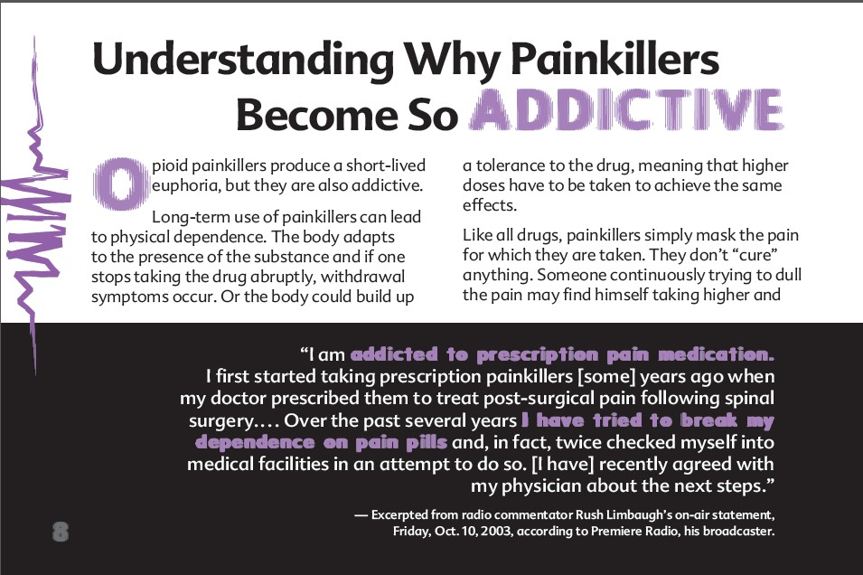 8 The Truth About Painkillers booklet