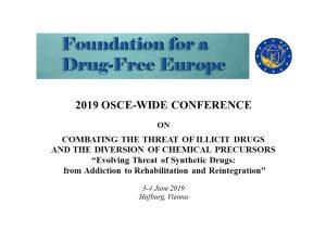 FDFE at OSCE* | Foundation Drug Free Europe